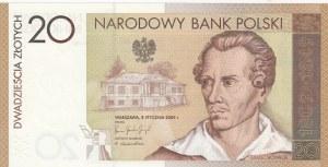 Poland, 20 Zlotych, 2009, UNC, p180, FOLDER