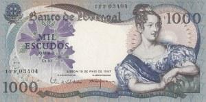 Portugal, 5 Escudos, 1967, XF, p172a