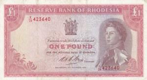 Rhodesia, 1 Pound, 1968, VF, p28d