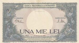 Romania, 1.000 Lei, 1941, UNC, p52