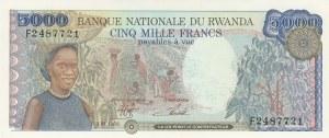Rwanda, 5.000 Francs, 1988, UNC (-), p22