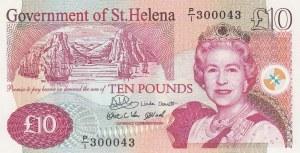 Saint Helena, 10 Pounds, 2004, UNC, p12