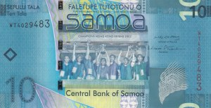 Samoa, 10 Tala, 2008, UNC, p39