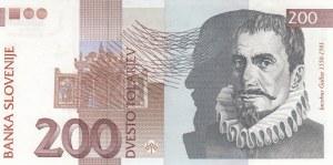 Slovenia, 200 Tlarjev, 2001, UNC, p15c