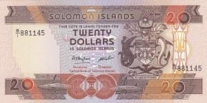 Solomon Islands, 20 Dollars, 1986, UNC, p16a