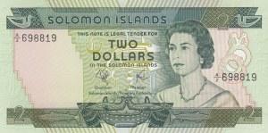Solomon Islands, 2 Dollars, 1977, UNC, p5a
