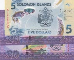 Solomon Islands,  Total 3 banknotes