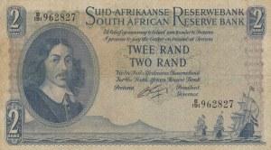 South Africa, 2 Rand, 1962/1965, VF, p105b