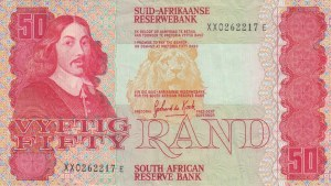 South Africa, 50 Rand, 1984, VF, p122a