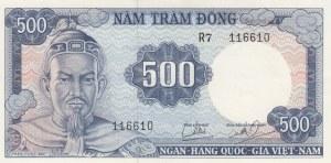 South Vietnam, 500 Dong, 1966, UNC, p23a