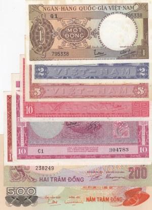 South Vietnam,  Total 8 banknotes
