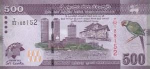 Sri Lanka, 500 Rupees, 2013, AUNC, p129