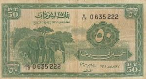 Sudan, 50 Piastres, 1967, VF, p7b