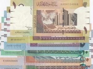 Sudan,  Total 6 banknotes
