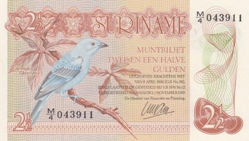 Suriname, 2 1/2 Gulden, 1985, UNC, p119a