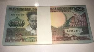 Suriname, 250 Gulden, 1988, UNC, p134, BUNDLE