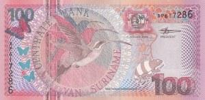 Suriname, 100 Gulden, 2000, UNC, p149