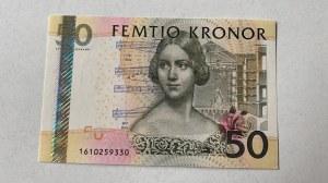 İsveç, 50 Pounds, 2011, UNC, p64c