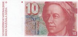 Switzerland, 10 Franken, 1981, XF, p53c