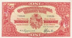 Tonga, 1 Pound, 1966, UNC, p11e
