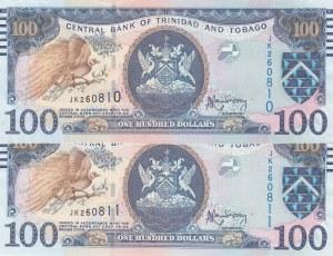 Trinidad and Tobago, 100 Dollars, 2006, UNC, p51a