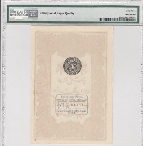 Turkey, Ottoman Empire, 10 Kurush, 1877, UNC, p48c