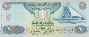 United Arab Emirates, 20 Dirhams, 2009, UNC, p28a