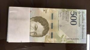Venezuela, 500 Bolivares, 2018, UNC, pNew, BUNDLE