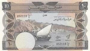 Yemen Arab Republic10 DinarsUNC,  UNC, P9A