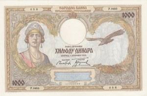 Yugoslavia, 1.000 Dinara, 1931, UNC, p29