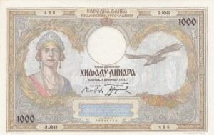 Yugoslavia, 1000 Dinara, 1931, UNC, p29