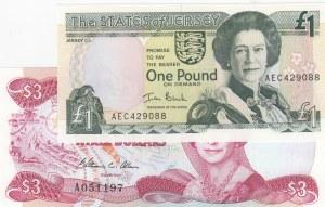 Mix Lot,  UNC,  total 2 banknotes