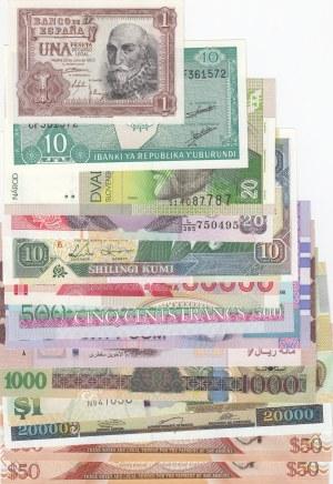 Mix Lot,  UNC,  Total 13 banknotes