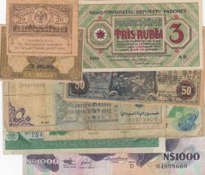 Mix Lot,  total 9 banknotes