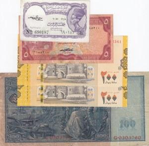 Mix Lot,  total 5 banknotes