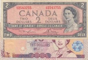 Mix Lot,  Total 2 banknotes