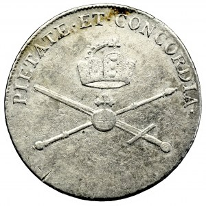 Austria, Leopold II, Coronation jeton 1790