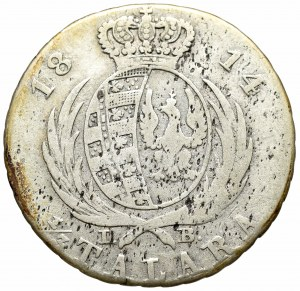 Księstwo Warszawskie, 1/3 talara 1814 I.B.