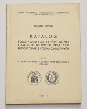 E. Kopicki, Katalog podstawowych typów monet i banknotów, tom IV