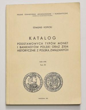 E. Kopicki, Katalog podstawowych typów monet i banknotów, tom III