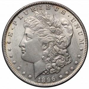USA, 1 dolar 1896 Morgan dollar