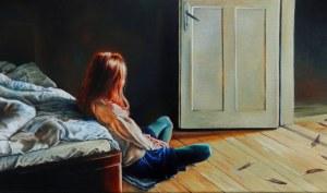 Włodzimierz KUKLIŃSKI, Wieczorne anioły, 2019 r.
