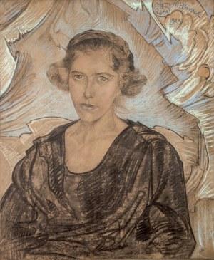 Stanisław I. Witkiewicz (1885 Warszawa - 1939 Jeziory na Polesiu), Portret kobiety, 1923