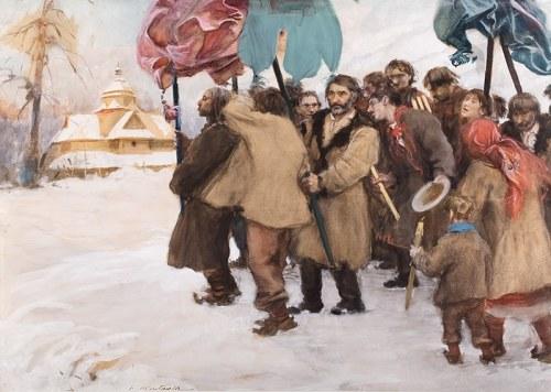 Teodor Axentowicz (1859 Braszów/Rumunia - 1938 Kraków), Święto Jordanu