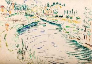 Mela Muter (1876 Warszawa - 1967 Paryż), Nad wodą