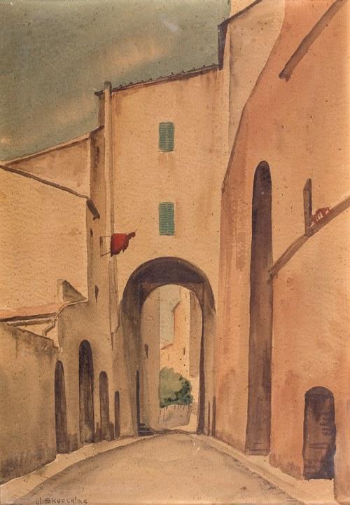 Władysław Skoczylas (1883 Wieliczka – 1934 Warszawa), Uliczka