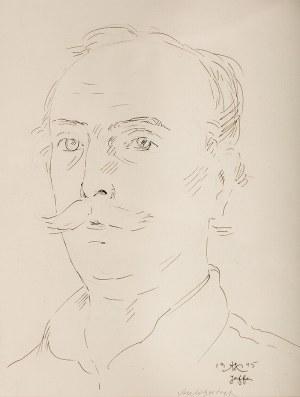 Wlastimil Hofman (1881 Praga - 1970 Szklarska Poręba), Autoportret, 1945 r.