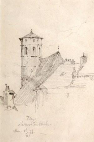 Tadeusz Rybkowski (1848 Kielce – 1926 Lwów), Kościół Minorytów w Wiedniu, 1876