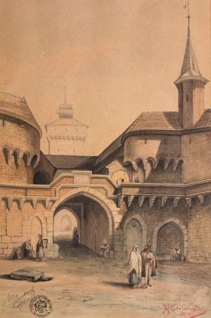M. Gielniewski (2 połowa XIX w.), Kraków, 1882 r.