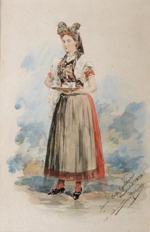 Tadeusz Rybkowski (1848 Kielce – 1926 Lwów), Emma, 1897 r.